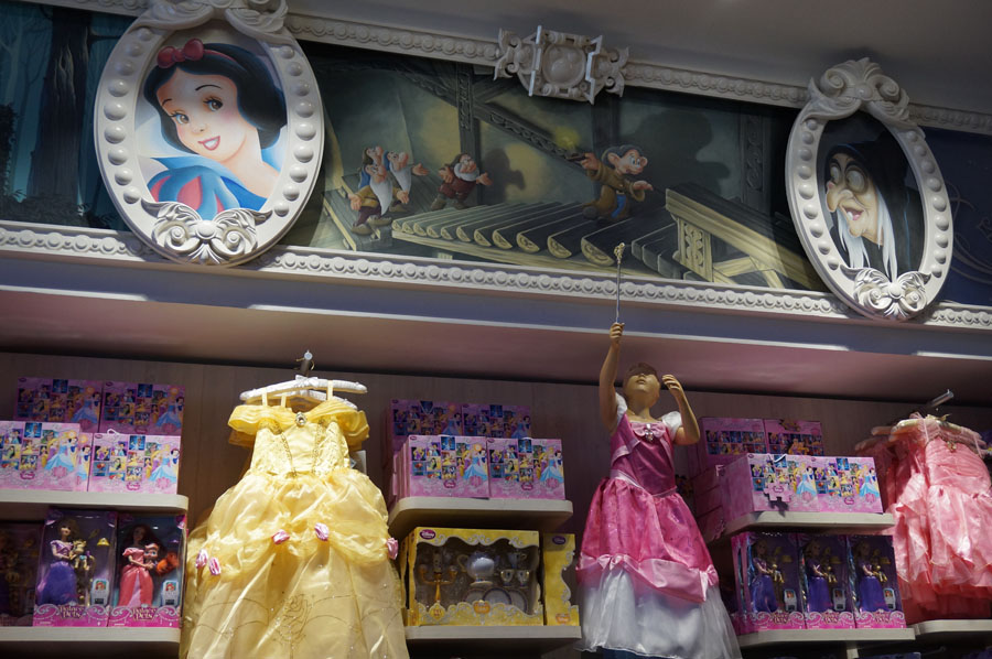 boutique disney paris