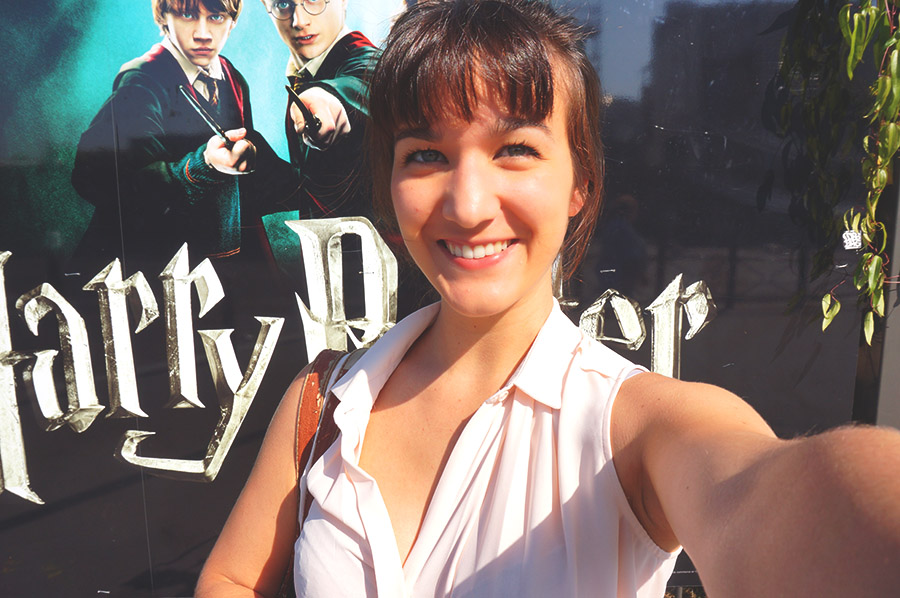 exposition harry potter selfie