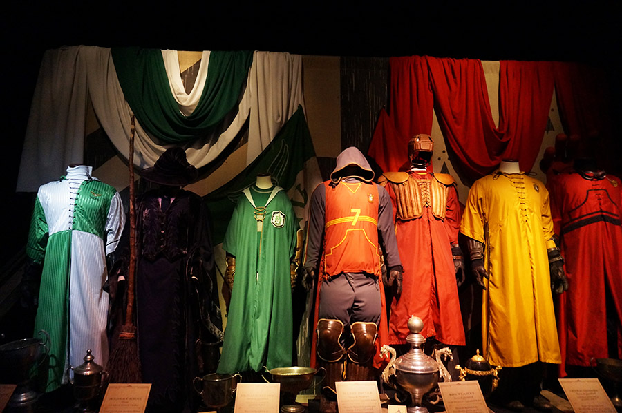 exposition harry potter costume quidditch