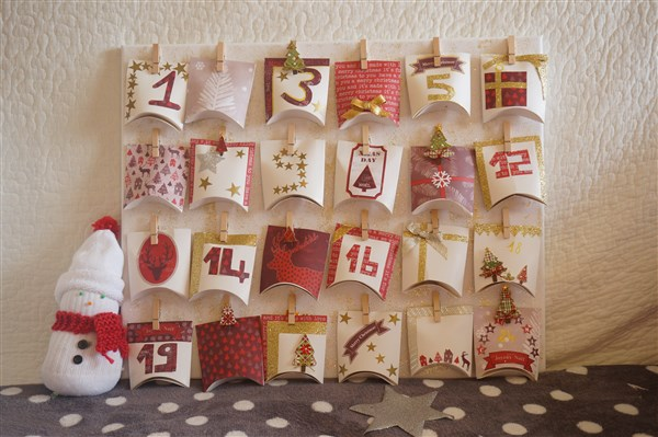 diy calendrier avent