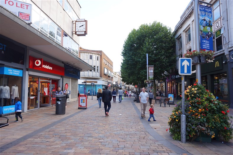 Wolverhampton city centre