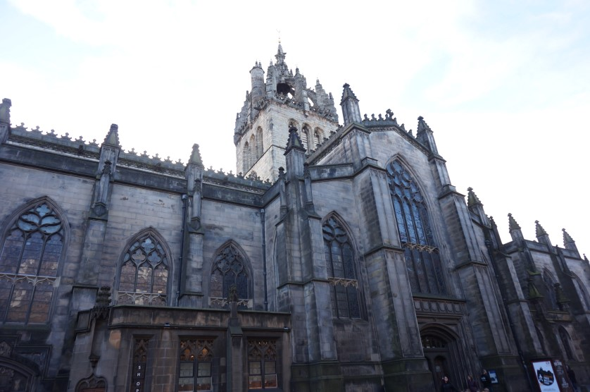 edimbourg st giles cathedral