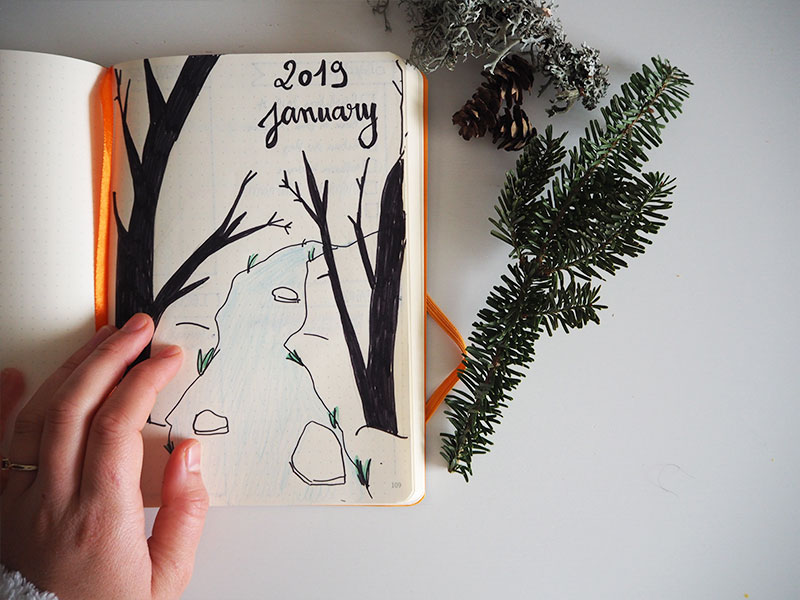 bullet journal little notebooks 2019